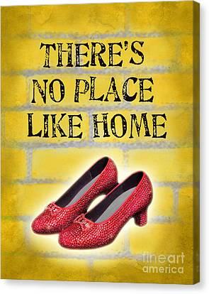 There's No Place Like Home Canvas Print by Ginny Gaura
