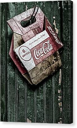 Theres Nothing Like A Coke Canvas Print