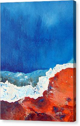 Thermal Shift Canvas Print by Abbie Groves
