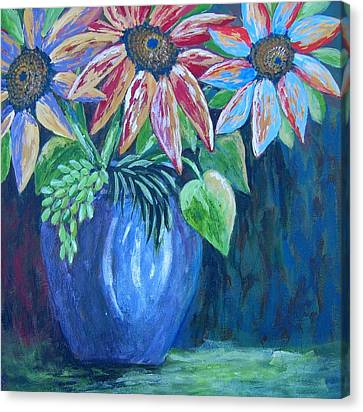 These Are For You Canvas Print by Suzanne Theis