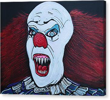 They All Float Canvas Print by Laura Barbosa