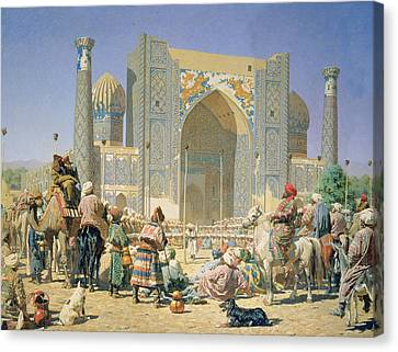They Are Triumphant, 1871-72 Oil On Canvas Canvas Print by Vasili Vasilievich Vereshchagin