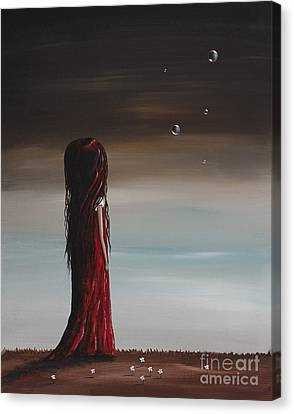 They Say She's A Dreamer By Shawna Erback Canvas Print