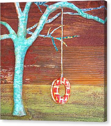 Things Will Swing Around Canvas Print