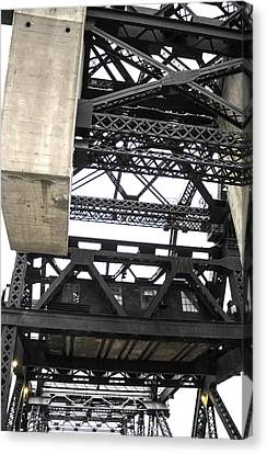 Third Street Bridge Vertical Canvas Print
