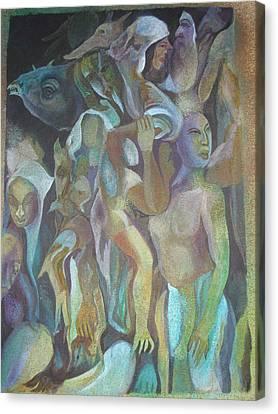 Third World Incarnation Canvas Print by Prasenjit Dhar