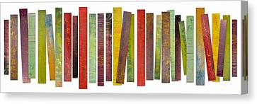 Thirty Stripes 2.0 Canvas Print by Michelle Calkins