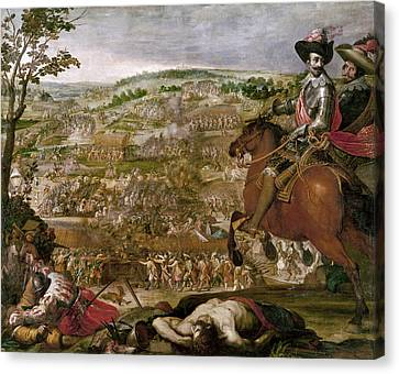 1622 Canvas Print - Thirty Years War, 1622 by Granger