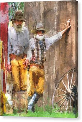 This Ain't Getting The Job Done Boys Canvas Print