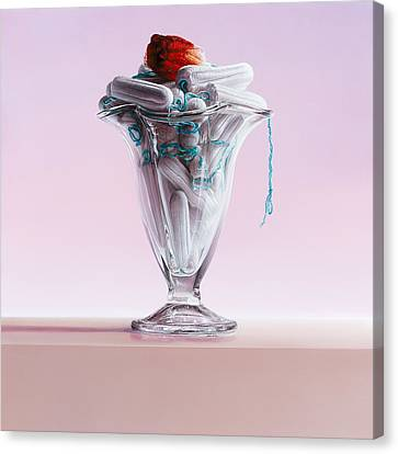 This Illusion Canvas Print by Mark Van crombrugge