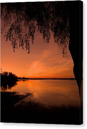 Canvas Print featuring the photograph This Is A New Day ... by Juergen Weiss