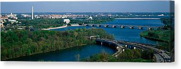 This Is An Aerial View Of Washington Canvas Print by Panoramic Images