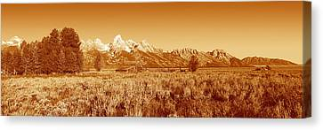 This Is Grand Teton National Park Canvas Print by Panoramic Images