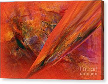 This Is It   Abstract   Canvas Print by Sherri  Of Palm Springs
