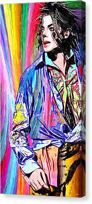 Michael Canvas Print - This Is It by Daniel Janda