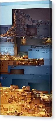 This Is Lake Powell Canvas Print by David Hansen