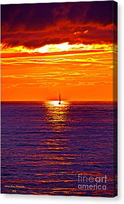 This Must Be Heaven - When Dreams Come True - Thank You Canvas Print by  Andrzej Goszcz
