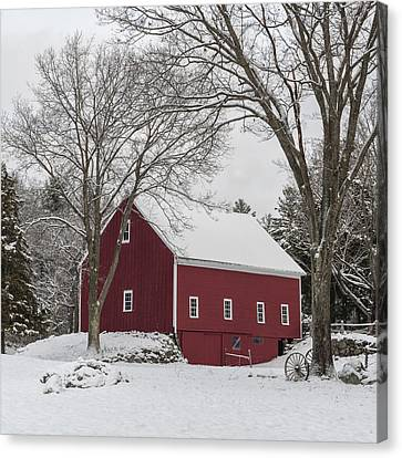 This Old Barn Canvas Print by Jean-Pierre Ducondi