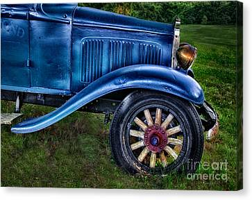 This Old Car Canvas Print by Susan Candelario