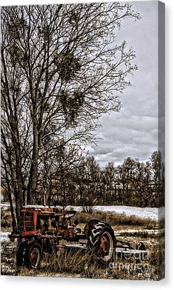This Old Farmall - No.9669 Canvas Print by Joe Finney