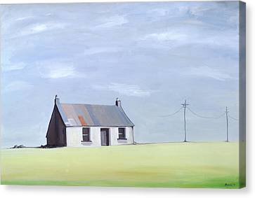 This Old House Canvas Print by Ana Bianchi