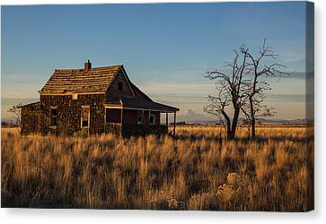 This Old House Canvas Print by Angie Vogel