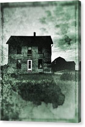 This Old House Canvas Print by Jeff Klingler
