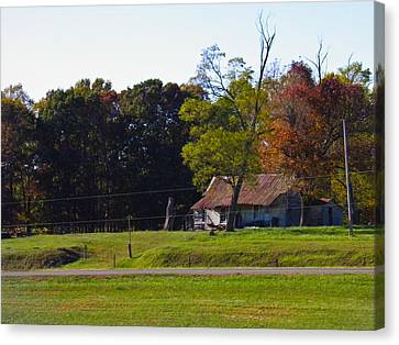 Canvas Print featuring the photograph This Old House by Nick Kirby