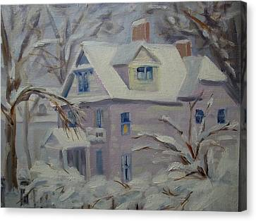 This Old House Canvas Print by Robert Martin