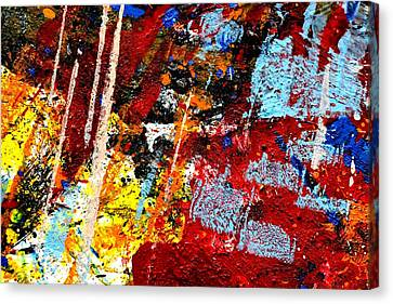 This Painting Has A Life Of Its Own IIi  Canvas Print by John  Nolan