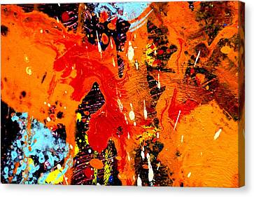 This Painting Has A Life Of Its Own Iv  Canvas Print by John  Nolan