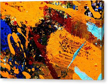 This Painting Has A Life Of Its Own V  Canvas Print by John  Nolan