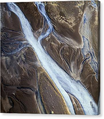 Thjosa Canvas Print by Gunnar Orn Arnason