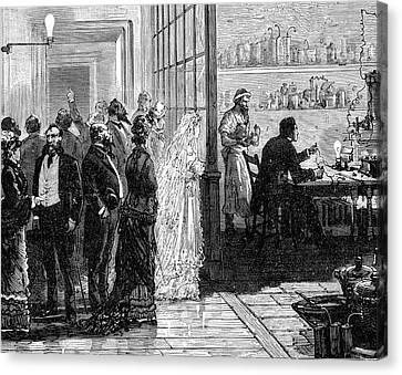 Thomas Alva Edison Canvas Print by Universal History Archive/uig