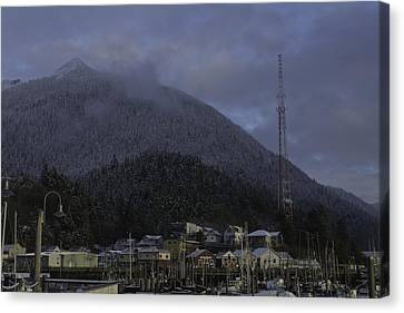 Canvas Print featuring the photograph Thomas Basin by Timothy Latta