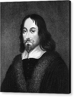 Thomas Browne Canvas Print by National Library Of Medicine