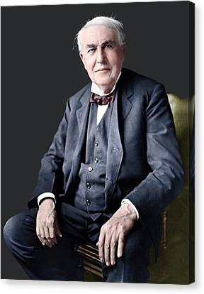 Thomas Edison Canvas Print by ***depends On Pic***