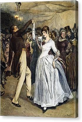 Thomas Hardy, 1886 Canvas Print by Granger