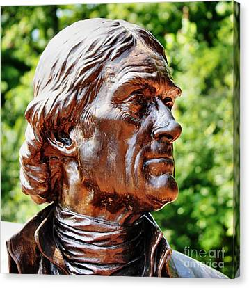 Thomas Jefferson Canvas Print by Judy Palkimas