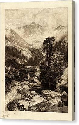 Thomas Moran Canvas Print - Thomas Moran American, 1837 - 1926, The Mountain by Quint Lox