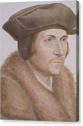 Thomas More Canvas Print by Hans Holbein the Younger