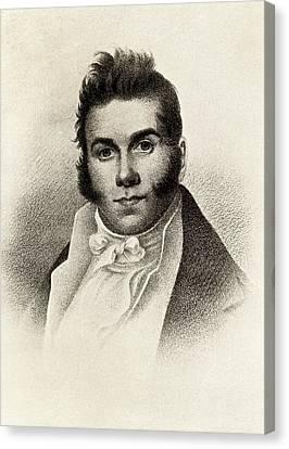 Thomas Say Canvas Print by Universal History Archive/uig