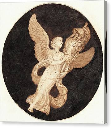 Thomas Stothard, British 1755-1834, Vignette For A Title Canvas Print