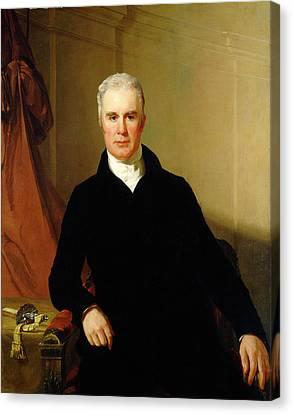 Thomas Sully American, 1783 - 1872, Charles Carnan Ridgely Canvas Print