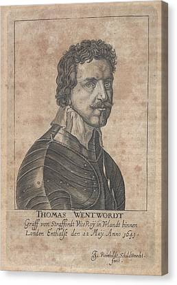 Thomas Wentworth Canvas Print by British Library