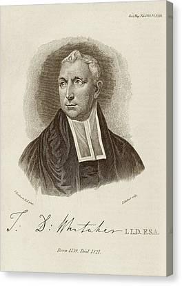 Thomas Whitaker Canvas Print