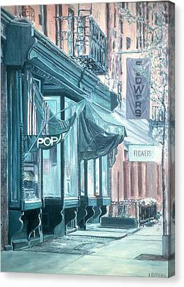 Thompson Street Canvas Print by Anthony Butera