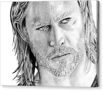Thor Odinson Canvas Print by Kayleigh Semeniuk