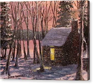 Thoreau's Cabin Canvas Print