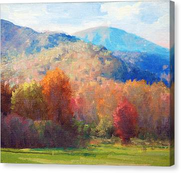 Thornton Gap Autumn Canvas Print